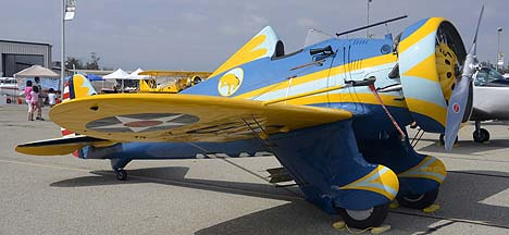 Boeing P-26 Peashooter N3378G, May 14, 2011